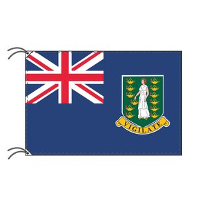 品揃え豊富で ヴァージン諸島 国旗(イギリス海外領 100×150cm)【受注生産】, St.Scott 39cbb180