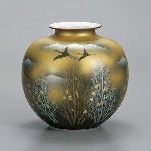 【限定品】 九谷焼 花瓶 花瓶 7号 金雲木立 7号 AP2-1368(き) 挿された花をより美しく魅せます 金雲木立。, 京都発メンズインナーADIEU:413a9d0b --- abizad.eu.org