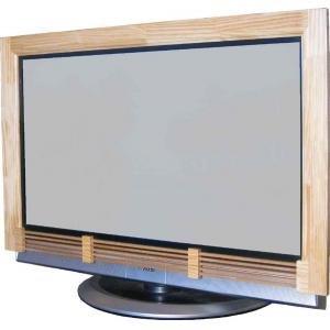 世界的に有名な 着せ替え テレデコフレーム 50型 クリア(き) 天然木使用のフレームでテレビが柔らかみのあるインテリアに 50型!, 坂井村:ee73f234 --- innorec.de