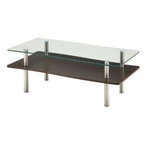 【通販 人気】 Two Top Glass Table WAVE Table Table Glass リビングテーブル Two GLT-2260(き) 強化ガラス使用リビングテーブル。, 下田町:3707e2b3 --- kraltakip.com