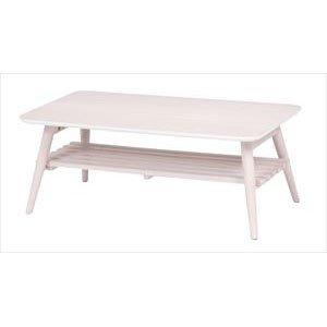 低価格で大人気の 折れ脚テーブル MT-6921WS MT-6921WS (き)【送料無料】【送料無料】ホワイトウォッシュが美しい折れ脚テーブル。棚もついているので雑誌や新聞をストック可能。スクエアサイズ。, 伊根町:434c752e --- clubsea.rcit.by
