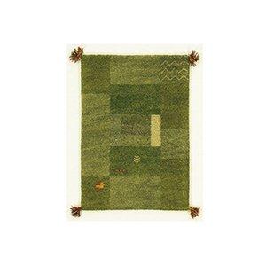 お手頃価格 インド敷物 GABBEH キリムマット グリーン GABBEH D11 インド敷物 80×140 G グリーン (き), 暮らしの杜 横濱:de52cae8 --- chalet-panoramablick.de