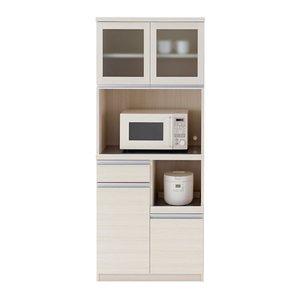 品質一番の フナモコ FUNAMOCO 食器棚 キッチン用品 DKS-73G ホワイト き【送料無料】, ポッチワン f8f1deee