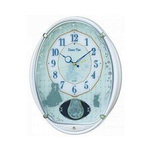 【本物新品保証】 セイコー SEIKO 掛け時計 ディズニータイム アナと雪の女王 FW578W ホワイト, EnjoySports カラフル a87cdd01