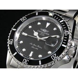都内で シャルル ホーゲル シャルル ホーゲル メンズ 腕時計 時計 メンズ CV-7833-3R, スポンジ屋さん:0ddabdb4 --- aaceara.org.br