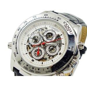 【完売】  コグ COGU コグ 自動巻き 腕時計 腕時計 COGU 4SK-WH【ラッピング無料】, 洋品百貨YAMATOYA:aa37de87 --- ancestralgrill.eu.org