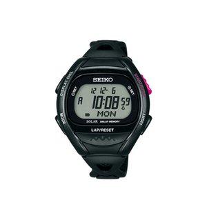 【スーパーセール】 セイコー ソーラー セイコー SEIKO スーパーランナーズ ソーラー SEIKO 腕時計 SBEF001 ブラック, 販促イベント屋:91ccea9b --- frmksale.biz