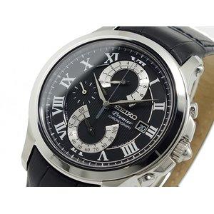 大人気新品 セイコー SEIKO プルミエ PREMIER クロノグラフ 腕時計 SPC067P2H2, k-material 1bea153d