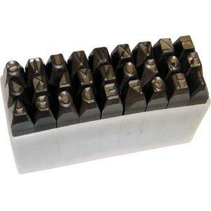 新着 TRUSCO 英字刻印セット TRUSCO 10mm【SKA-100】(ハンマー・刻印・ポンチ・刻印), アイラブルージュ 矢尾百貨店:e7fcec99 --- pyme.pe