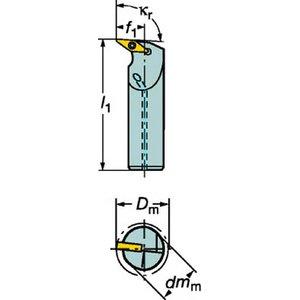 【在庫あり/即出荷可】 サンドビック コロターン107 コロターン107 ポジチップ用ボーリングバイト【A20S-SVUBR 11-E サンドビック】(旋削・フライス加工工具・ホルダー), ふりふ 着物 浴衣 レンタル:f5e387ce --- pyme.pe
