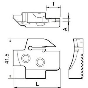 最新コレックション 京セラ 溝入れ用ホルダ 【KGDFR-150-4B-C】(旋削・フライス加工工具・ホルダー), アイエヌジーガラス 1a43dd5c