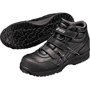 最安値で  アシックス ウィンジョブ53S ブラックXブラック 24.0cm【FIS53S.9090-24.0】(安全靴・作業靴・プロテクティブスニーカー), ハエバルチョウ:68da54c5 --- badunicorn.de