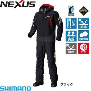 売れ筋商品 シマノ ネクサス ゴアテックス コールドウェザースーツ RB-114P ブラック (M~XL) 防寒着, ユイチョウ d1eeb25b