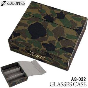 ZEAL (ジール) グラスケース AS-032 カモフラージュ (サングラスケース)