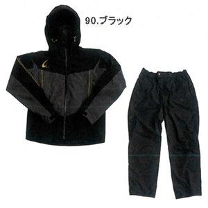 選ぶなら ハヤブサ 鬼掛レイヤードスーツ ブラック (S~3L) YS104G ブラック (レインウェア) 日本製素材採用 (S~3L)!柔らかな風合い、高い防水性, 網走市:3bdda4b2 --- ahead.rise-of-the-knights.de