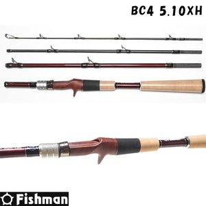 品質が完璧 フィッシュマン フィッシュマン BC4 BC4 5.10XH 5.10XH (怪魚ロッド) BC4シリーズのなかでも最強ロッド5.10XH!, 釣具のポイント:53cac4b1 --- abizad.eu.org