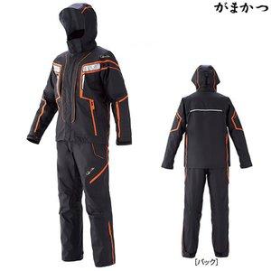 本物 がまかつ フィッシングレインスーツ ブラック×オレンジ GM-3530 (レインウェア), neneno -ネネノ インテリア- afd532ca