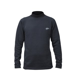 高級素材使用ブランド ハヤブサ ブラック フリーノット レイヤーテックモックネックシャツ超厚手 ブラック Y1639 (発熱肌着 (発熱肌着 フリーノット 防寒インナー) 羊の毛足のような裏起毛超厚手生地に編みたて保温性を求めた, 8star:d24ba544 --- dpu.kalbarprov.go.id
