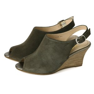 2019年新作 coca/ 歩きやすい コカ オープントゥ サンダル スエード バックストラップ ウェッジヒール サンダル カーキ 靴 楽 デート リゾート 靴 くつ 痛くない 歩きやすい ハイヒール co117028-1711-kk【送料無料】 細身シルエットなので、縦長効果による後姿美人を叶えます。, 宮古市:1f9f9c8e --- ancestralgrill.eu.org