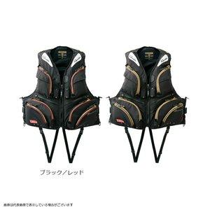 ファッションデザイナー がまかつ GM2174 ウィンドストッパーフローティングベスト ブラック/レッド L フローティングベスト, ラベンダージャパン:f5c04e72 --- cranbourne-chrome.com