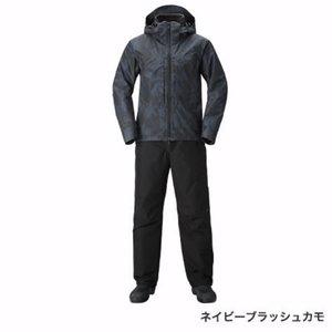 超特価激安 シマノ RB-017T GORE-TEX ウォームスーツ ネイビーブラッシュカモ M, クメジマチョウ 6b72df54