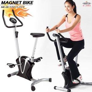 ファッションなデザイン 鉄人倶楽部 マグネットバイク/IMC-28/マグネットバイク、エアロバイク、フィットネスバイク、自転車、有酸素運動、ジムバイク、ダイエット、バイク, ルチアーノジェラート f0eefef6