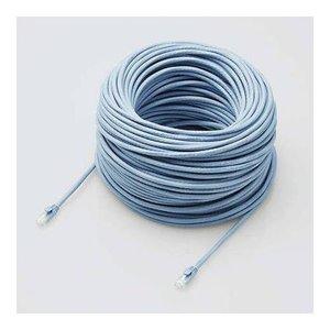 最低価格の elecom エレコム LANケーブル CAT6A対応 EU RoHS指令準拠 ツメ折れ防止カバー 70m 単線 ブルー LD-GPAT BU70 RS()【送料無料】, RindaRinda eda795c9