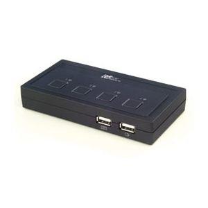 【特別訳あり特価】 ラトックシステム USB接続 (4台用) ミニBOXタイプ REX-430U, 海田町:0874642d --- pyme.pe