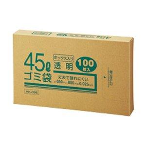 お手頃価格 (まとめ) クラフトマン 業務用透明 メタロセン配合厚手ゴミ袋 45L BOXタイプ HK-096 45L 1箱(100枚)【×10セット HK-096 (まとめ)】 掃除用品 ゴミ袋 透明, ホビーとおもちゃのほびたま:c54db57f --- showyinteriors.com
