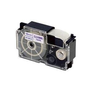 信頼 (業務用30セット) カシオ CASIO クリーニングテープ XR-18CLE 18mm ×30セット, ニシキマチ 42077e3d