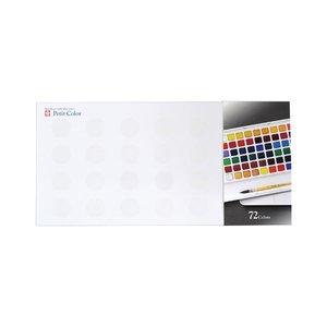格安新品  サクラクレパス プチカラー 72色セット NCW-72, ジュウモンジマチ c8c90113