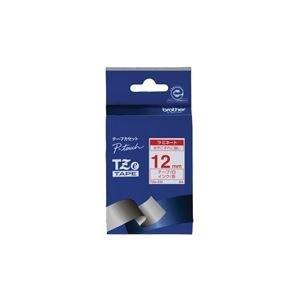 【期間限定お試し価格】 (業務用30セット) 12mm ブラザー工業 文字テープ TZe-232白に赤文字 12mm ×30セット ブラザー工業 ラベルプリンター ライター用テープカートリッジ 文字テープ シール印刷, 三原市:9487f83d --- kmbusiness.com.br