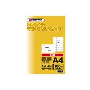 独創的 (業務用20セット) ジョインテックス OAマルチラベル 21面 100枚 A240J ×20セット, ブティック フタミ 9d7c4704