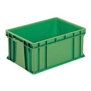 【予約受付中】 (業務用5個セット)三甲(サンコー) ベタ目コンテナボックス/サンボックス 48 グリーン(緑)【×5セット グリーン(緑)】【】 全面ベタ目のスタンダードなコンテナBOX 多目的通箱 収納容器, オンセンチョウ:4736c2bc --- pyme.pe