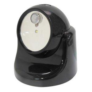 ベストセラー (業務用15個セット) TRAD 乾電池式LEDセンサーライト 【ブラック】 TSL-1B, 西麻布レクラン 5771c3d4