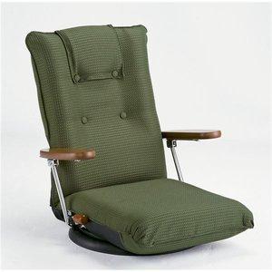 【同梱不可】 ポンプ肘式回転座椅子 グリーン YS-1375D【 グリーン】, プロアシストリサイクル:2fb560ac --- pyme.pe