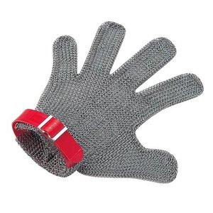 2020春の新作 ニロフレックス メッシュ手袋5本指 S S5L-EF 左手用(白) STBD805, 大滝村 0c2d9997