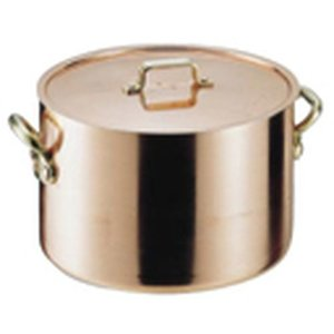 【残りわずか】 遠藤商事 SAエトール銅 半寸胴鍋 24cm AHV05024, MADMAX e007de0e