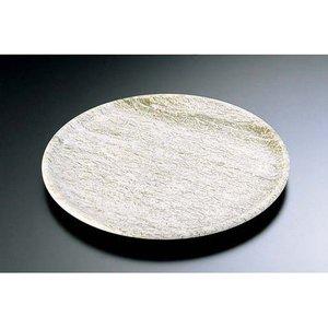 偉大な TKG 石器 丸皿 YSSJ-011 30cm RIS1402, e雑貨屋 c5b5bdab