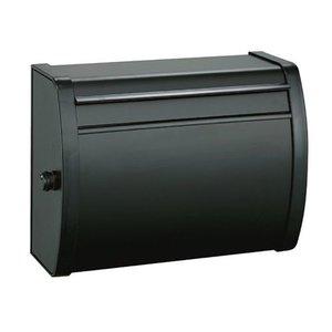 激安通販の 清水 大型ダイヤル錠付カラーポスト MK-82-ブラック【送料無料】, ワールドセレクトマーケット 31d2329f