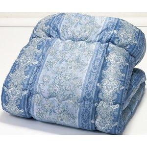 『4年保証』 ほこりの出にくいボリューム寝具セット ダブル 12点セット ブルー系 布団セット ふとんセット()【送料無料】, ぐんまけん 56ac60c1