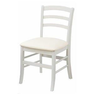 全日本送料無料 椅子 白家具 モノトーン チェアー ホワイト エレガント シンプル()【送料無料】, 川本町 99c728eb