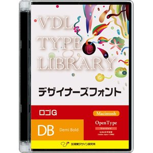 2019高い素材  視覚デザイン研究所 VDL TYPE LIBRARY デザイナーズフォント Macintosh版 Open Type ロゴG Demi Bold 42000(き), イマバリシ 0397ea72
