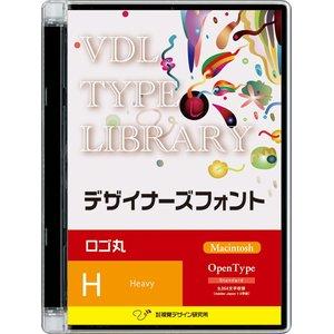 2019人気の 視覚デザイン研究所 VDL TYPE LIBRARY デザイナーズフォント Macintosh版 Open Type ロゴ丸 Heavy 43000(き), 【gracias】-グラシアス 98046d21
