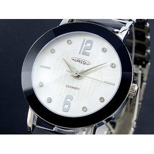 【超新作】 オレオール AUREOLE 日本製 腕時計 メンズ SW-486M-3【ラッピング無料】【送料無料】, イタコシ 1611ced3
