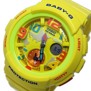 最適な価格 カシオ ベビージー 時計 Baby-G クオーツ レディース 腕時計 時計 ベビージー BGA-190-9B イエロー BGA-190-9B【ラッピング無料】, クリエイションファクトリー:3d49607c --- computerhelp.ie