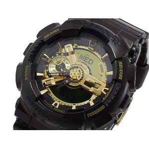 【SEAL限定商品】 カシオ CASIO Gショック ガリッシュゴールドシリーズ アナデジ メンズ 腕時計 時計 GA-110BR-5A, 名入れ彫刻ギフトのアトリエエイム be326b42
