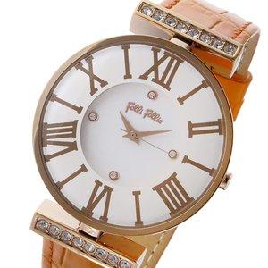 大好き フォリフォリ FOLLI FOLLIE ダイナスティ DYNASTY クオーツ FOLLIE レディース DYNASTY 腕時計 時計 クオーツ WF1B029SSS-OR ホワイト【ラッピング無料】, ジュエリー WADA:02242967 --- lbmg.org