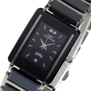 肌触りがいい テクノス TECHNOS クオーツ レディース TECHNOS 腕時計 時計 TSL906TB ブラック【ラッピング無料 時計 腕時計】, カミミネチョウ:41bcf2b7 --- ancestralgrill.eu.org