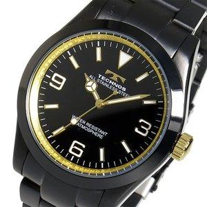 【正規品質保証】 テクノス TECHNOS クオーツ メンズ 腕時計 時計 TSM208BG ブラック, 郵便受けポスト表札ファミリー庭園 aef4706f